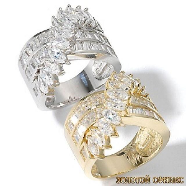 Обручальное кольцо 40164пом