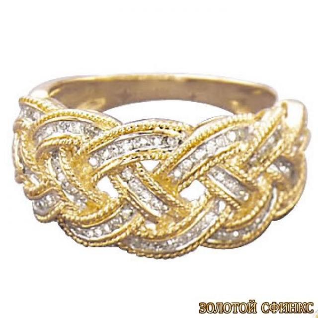 Обручальное кольцо 40165пом