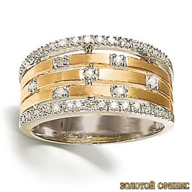 Обручальное кольцо 40166пом