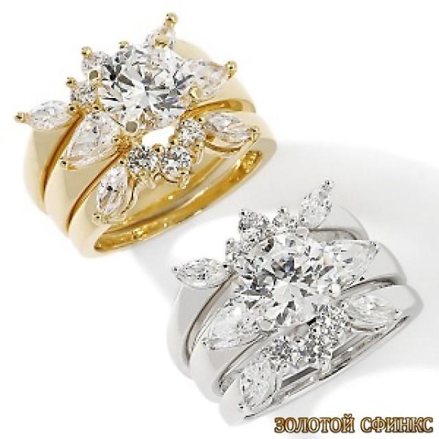 Обручальное кольцо 40168пом