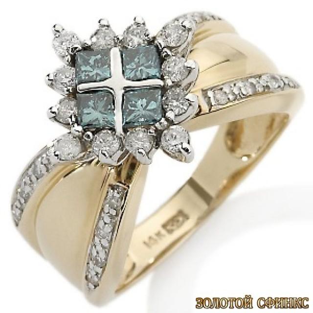 Обручальное кольцо 40169пом
