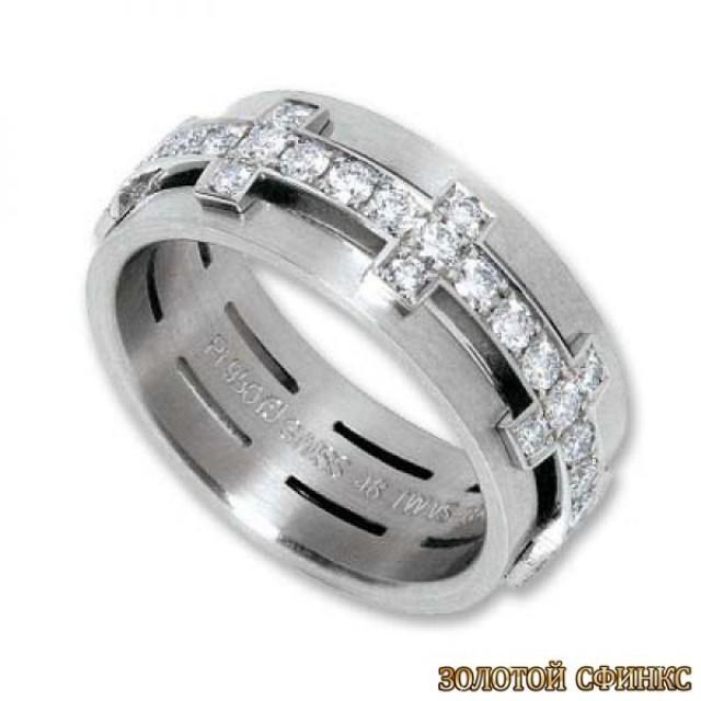 Обручальное кольцо 40176пом