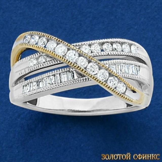 Обручальное кольцо 40177пом