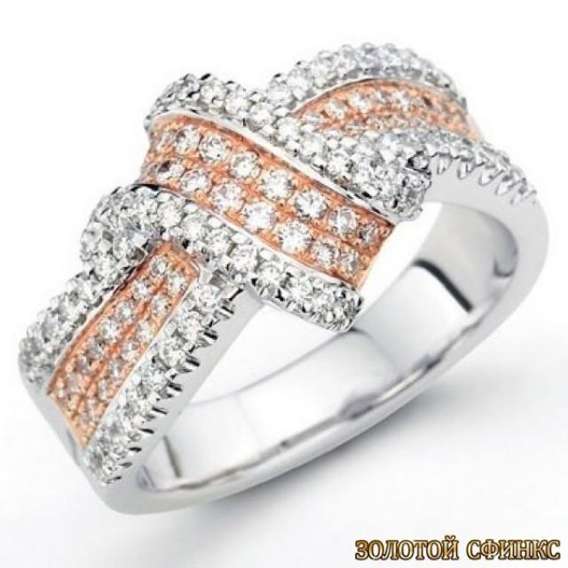 Обручальное кольцо 40179пом