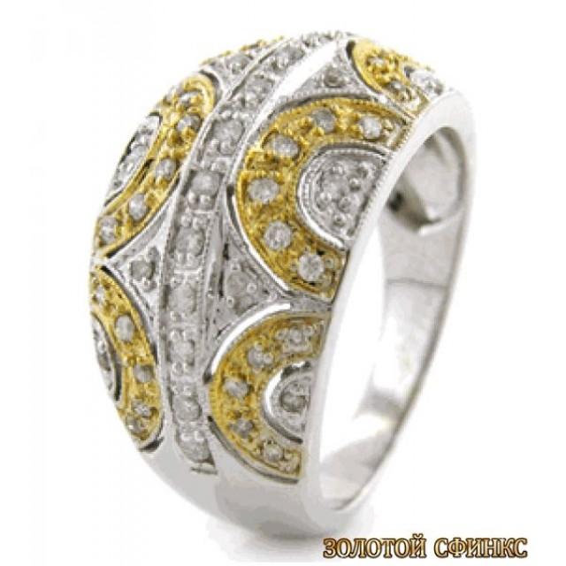 Обручальное кольцо 40180пом