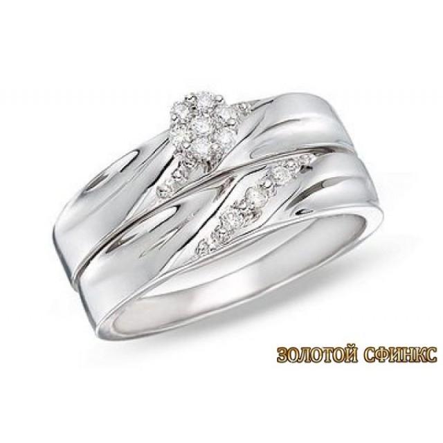 Обручальное кольцо 40181пом