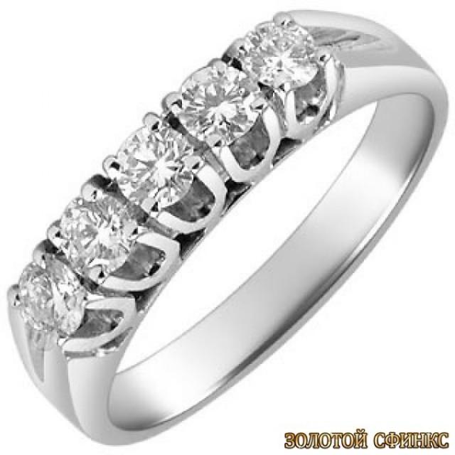 Обручальное кольцо 40184пом