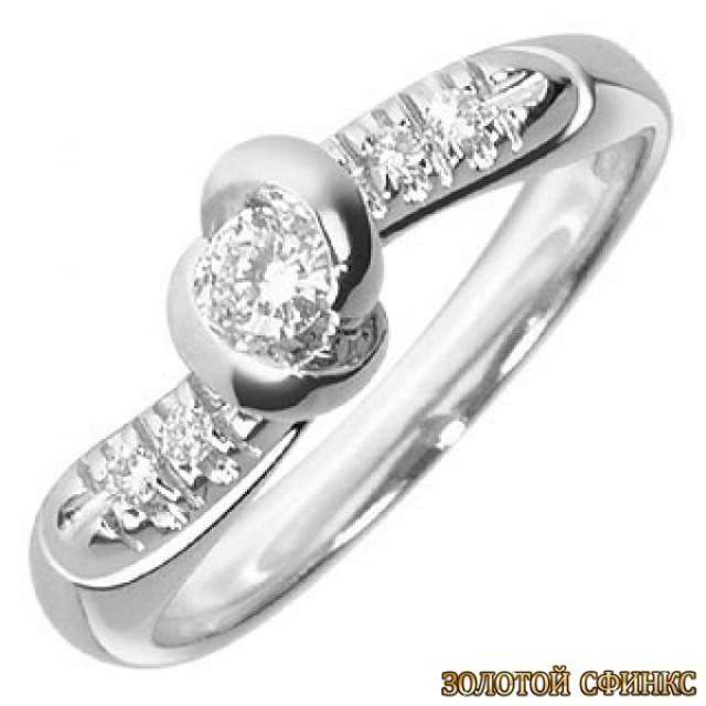 Обручальное кольцо 40187пом
