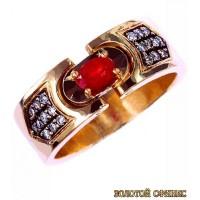 Обручальное кольцо 40189пом