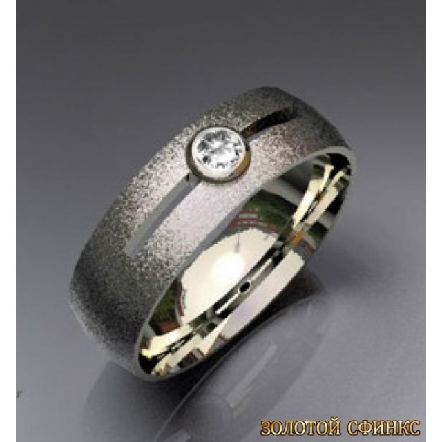 Обручальное кольцо 40191пом