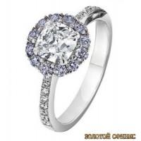 Золотое кольцо с бриллиантами 30002-1ay