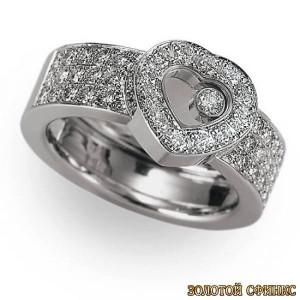 Золотое кольцо с бриллиантами 30019-1cd фото