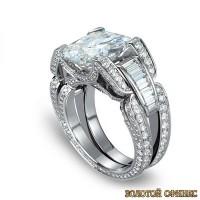 Золотое кольцо с бриллиантами 30024-1cd