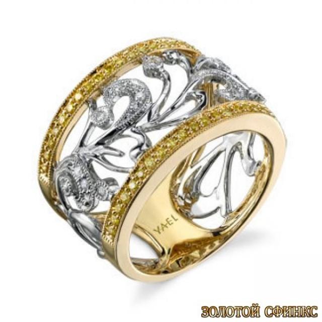 Золотое обручальное кольцо 40137yl