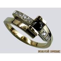 Золотое обручальное кольцо 40142пом