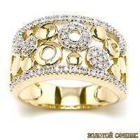 Золотое обручальное кольцо 40167пом