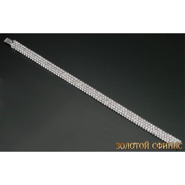 Золотой браслет с бриллиантами 10001-1ce