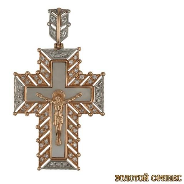 Золотой крест 3410 фото