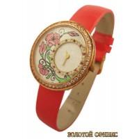Золотые часы женские 752