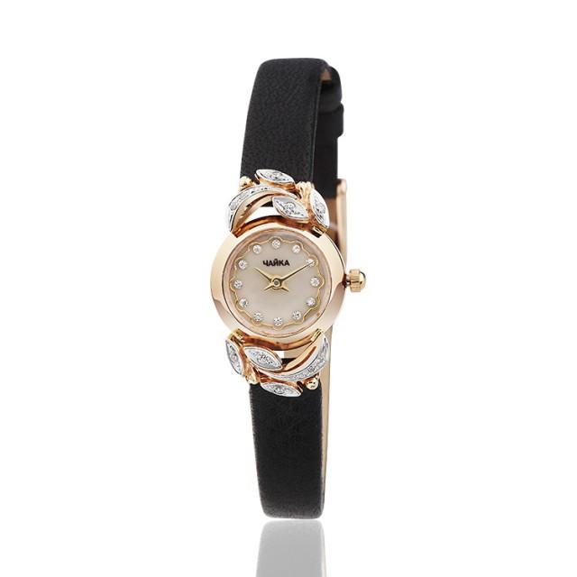 Золотые часы женские Континент 34Р