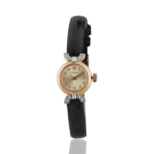 Золотые часы женские 26р
