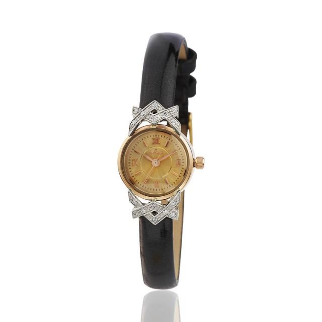 Золотые часы женские 27