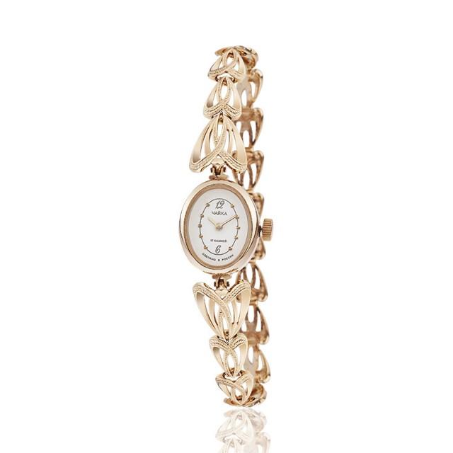 Золотые часы женские 28а