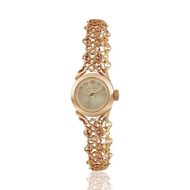 Золотые часы женские 36