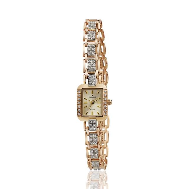 Золотые часы женские 97н