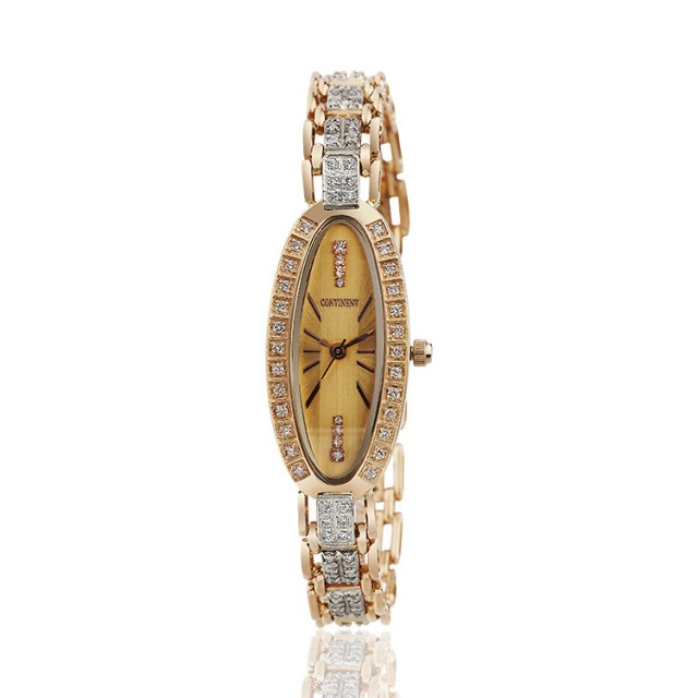 Золотые часы женские 97т