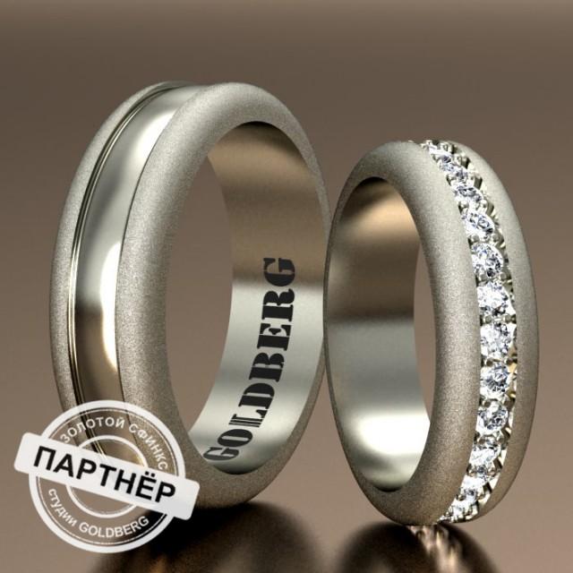 Золотое обручальное кольцо Goldberg 10-49