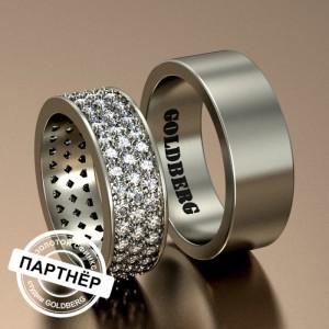 Золотое обручальное кольцо Goldberg 10-53