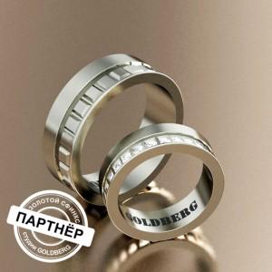 Золотое обручальное кольцо Goldberg 10-65