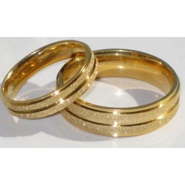 Золотое обручальное кольцо 415141