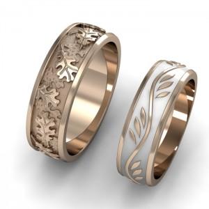 Золотое кольцо обручальное 12-01