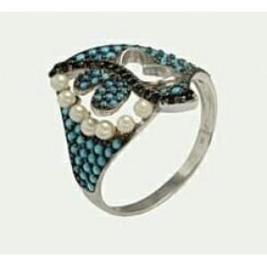 Серебряное кольцо 380187