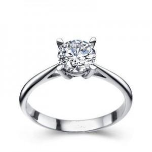 Золотое кольцо с бриллиантом EKDG1birds