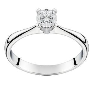 Золотое кольцо с бриллиантом EKDG2birds