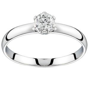 Золотое кольцо с бриллиантом EKDG3birds