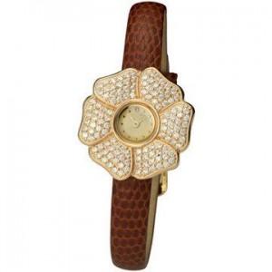Золотые женские часы 03
