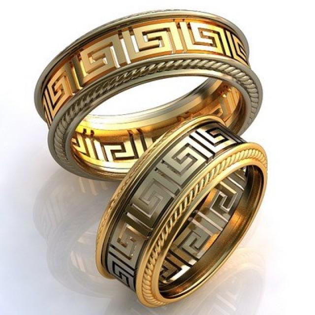 Золотое обручальное кольцо 412805