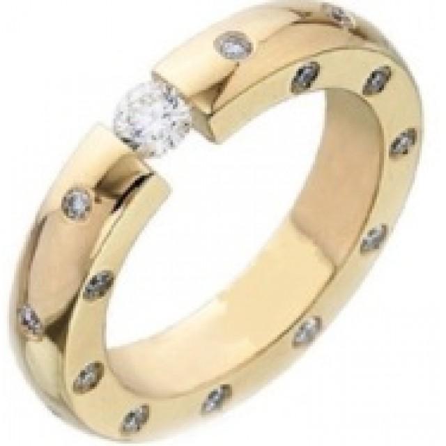 Золотое обручальное кольцо 412925к
