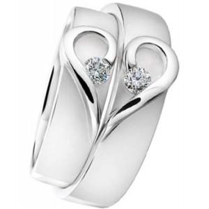 Золотое обручальное кольцо 412930