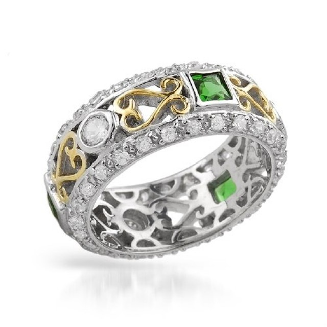 Золотое обручальное кольцо 100103