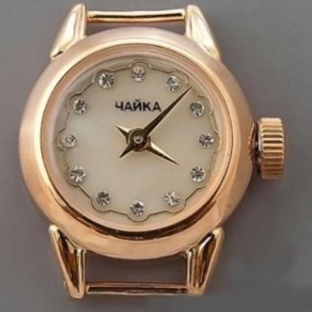 Золотые женские часы 02