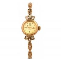 Золотые часы женские 1-922