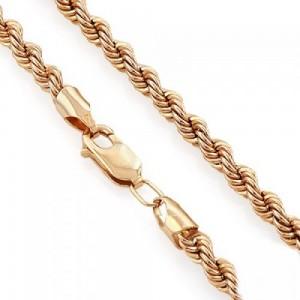 Золотая цепь жгутик 1008