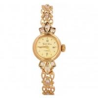 Золотые часы женские 159к