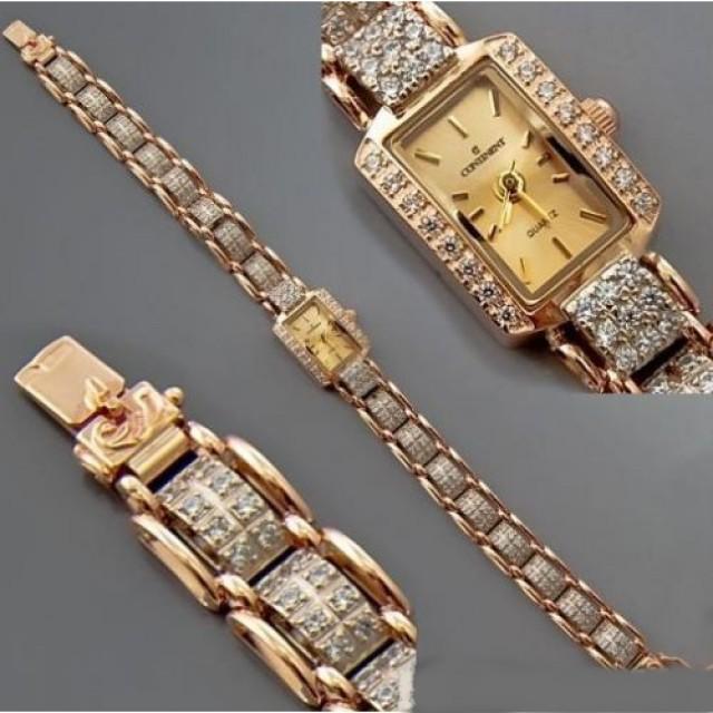 Золотые часы женские 169