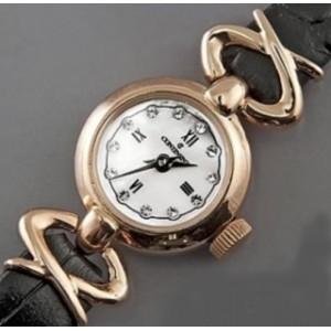 Золотые женские часы 17Р